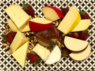 Basic Cheese Platter