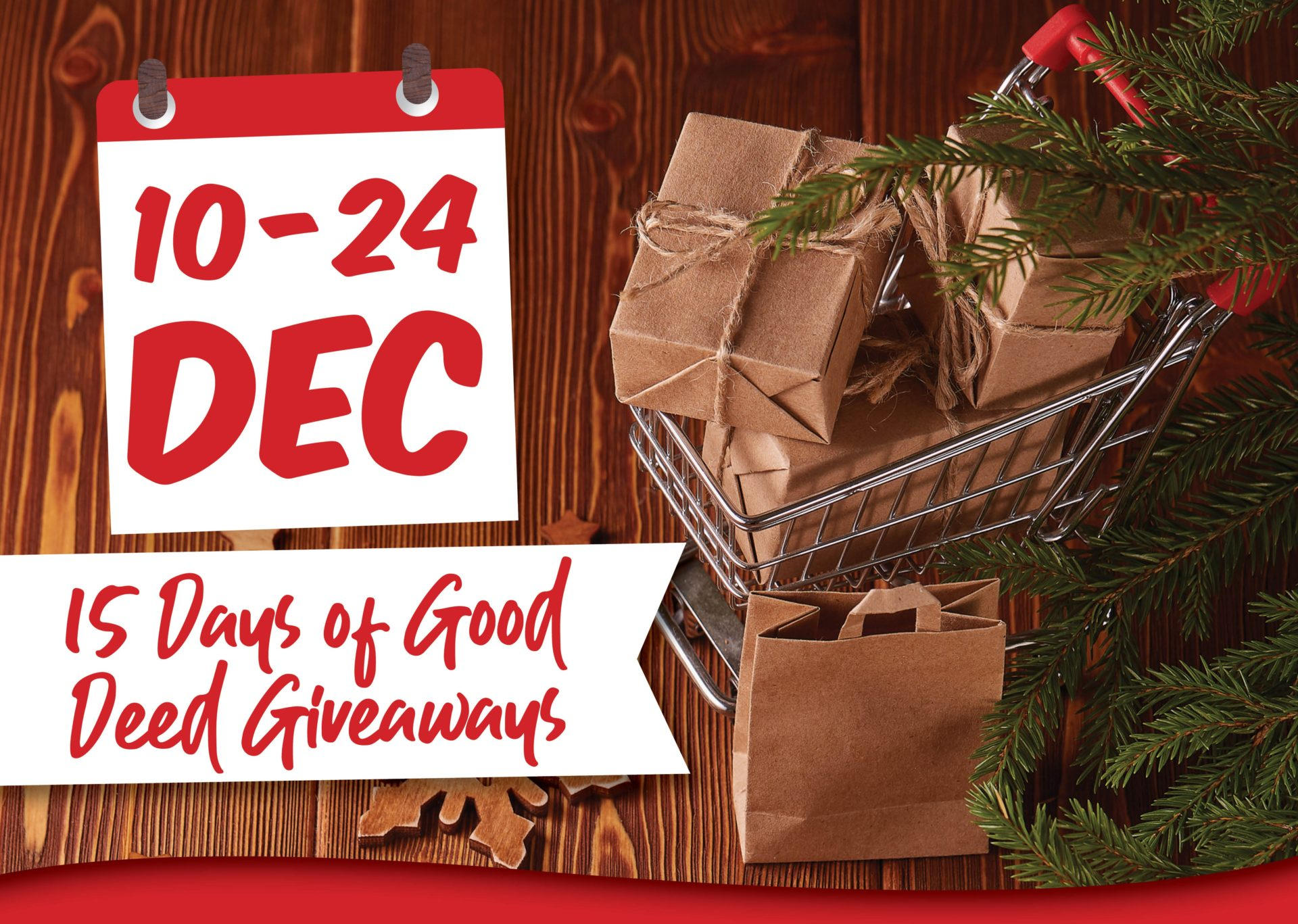 15 Days of Grocery Giveaways!