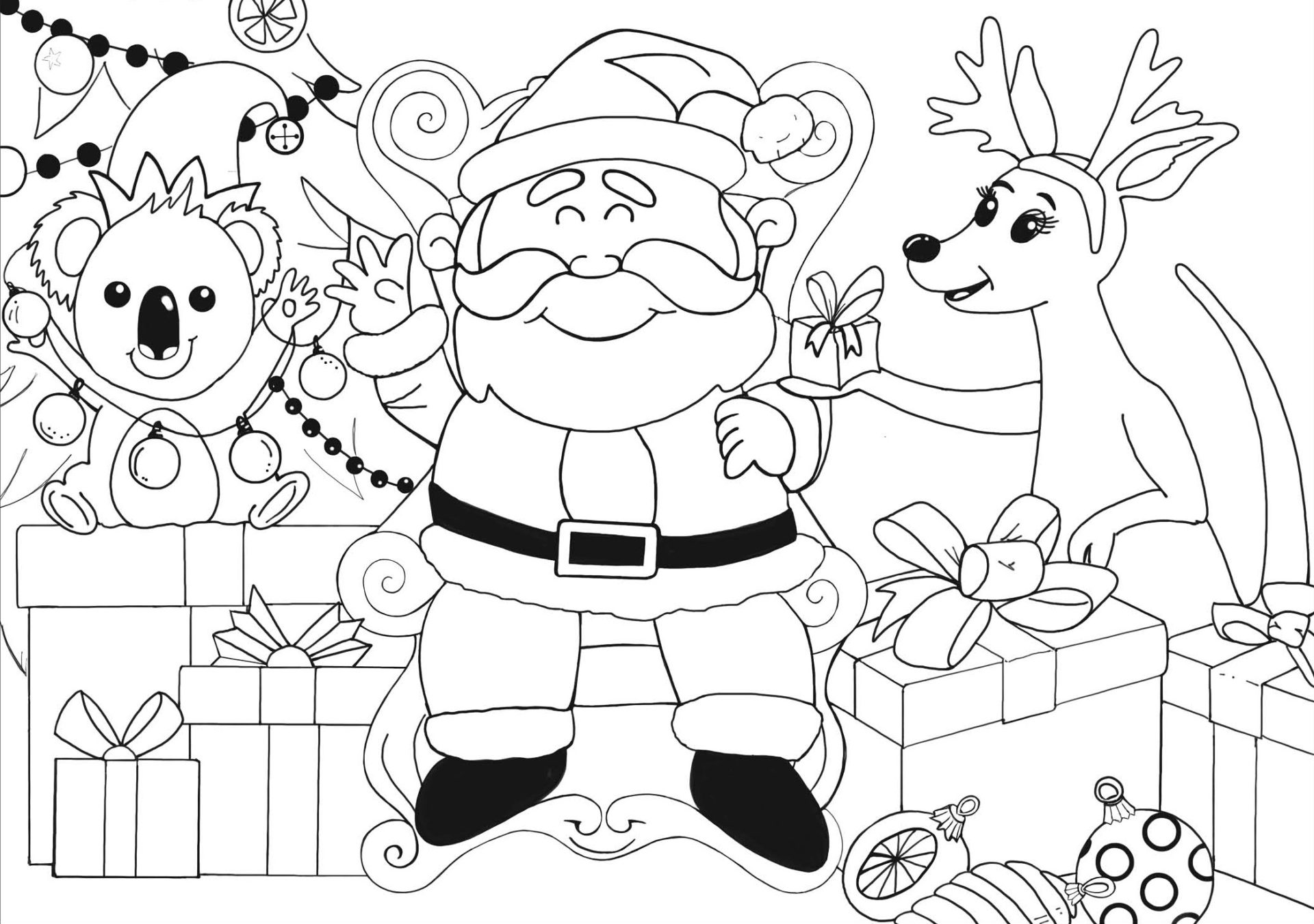 Kids colour in to win this Christmas!
