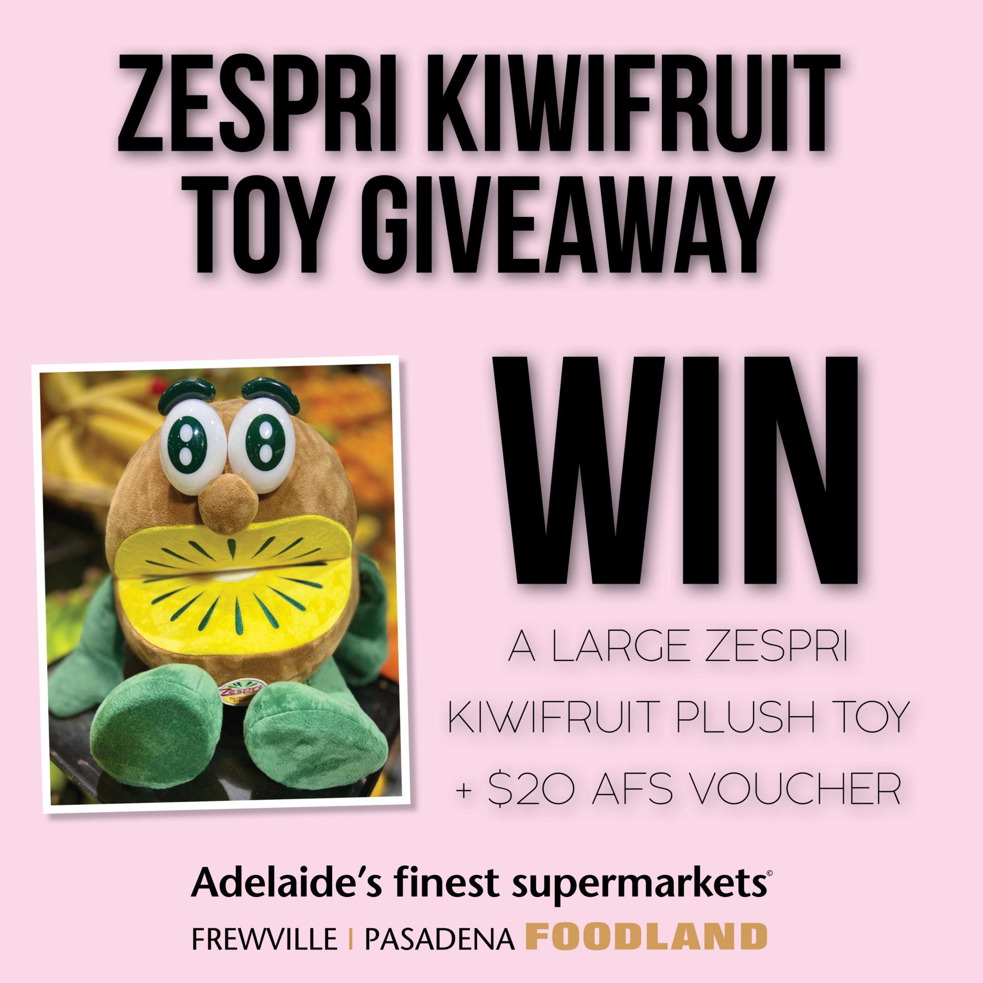 Zespri Kiwifruit Toy Giveaway
